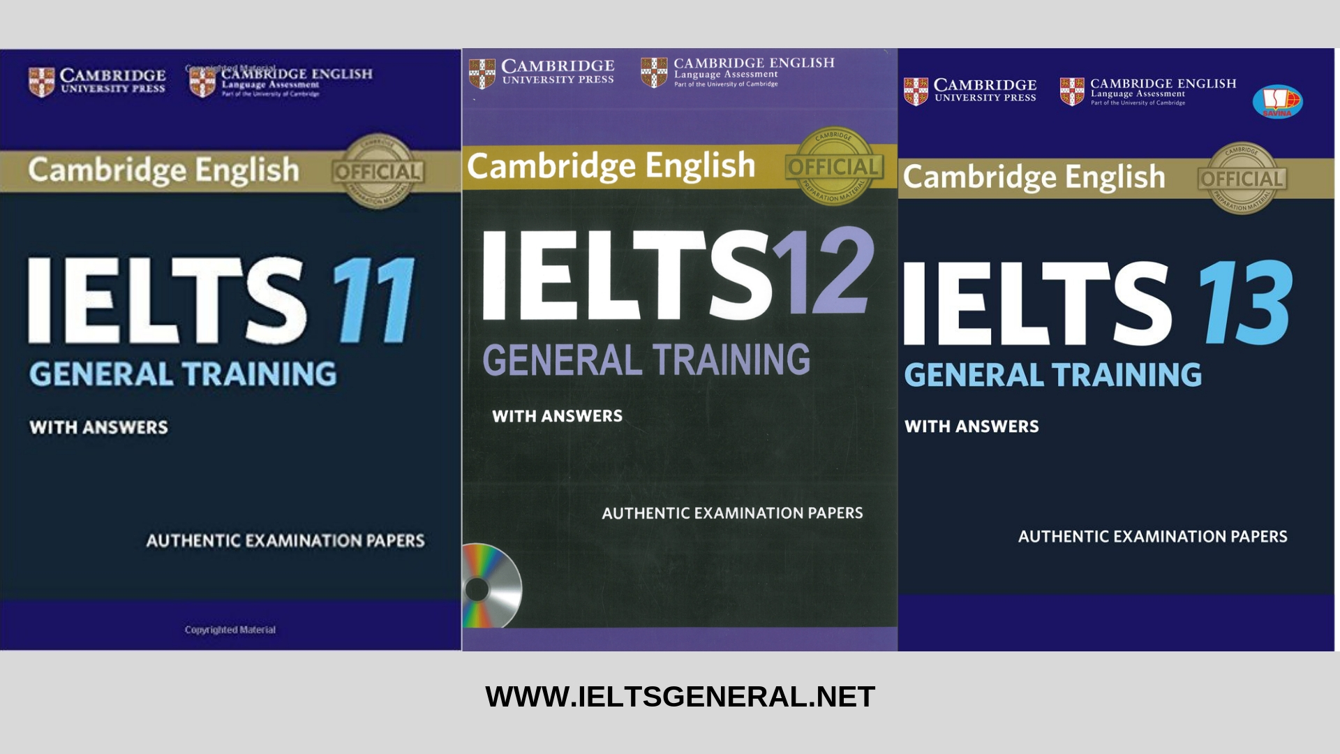 Cambridge IELTS 11 - 13 General Training Student's Book with